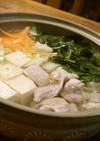 簡単*鶏もも肉の水炊き