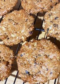 オートミールプロテインクッキー