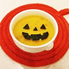 簡単♪かぼちゃプリン☆ハロウィン仕様♫