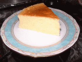 【更新】スフレチーズケーキ(とってもふわふわ)