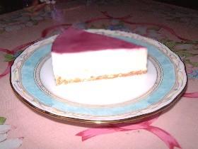 レアチーズケーキ~混ぜて固めるだけ♪~