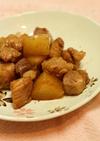 豚角切り肉と大根の五香粉炒め煮