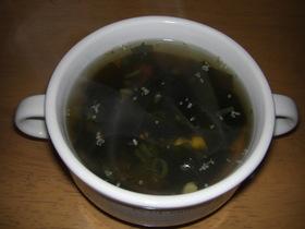 簡単わかめスープ