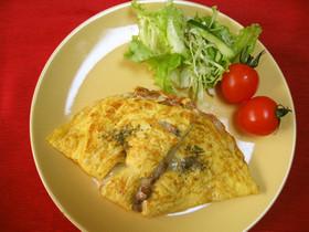チーズ納豆オムレツ☆