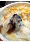 牡蠣 ♪ ホワイトアスパラ ♪ グラタン
