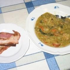 オランダ・エルテン(えんどう豆)スープ