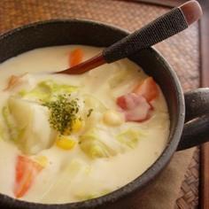 白菜のチーズクリームシチュー