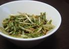 水菜のチョレギサラダ風
