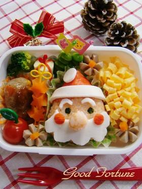 キャラ弁☆クリスマス サンタさん♪