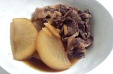 ご飯に合う◎牛肉と大根の煮物♪