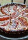 グレープフルーツのタルト・フロマージュ
