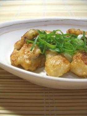 鶏胸肉の❤ふんわり味噌マヨネーズ照り焼き
