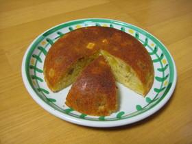 炊飯器とHMでふっくらサツマイモケーキ。