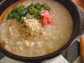 オートミールde中華粥。