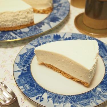 皆に愛される♡我が家のレアチーズケーキ