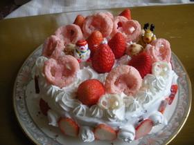 2008クリスマスケーキ
