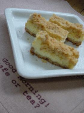 クランチ・チーズケーキ