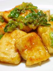 甘辛♡こってり♡豆腐ステーキの写真