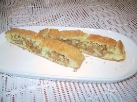 キャラメル胡桃クッキー