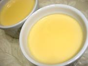 材料3つ!全卵でなめらか蜂蜜プリン の写真