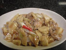 鶏肉と野菜の炒め物
