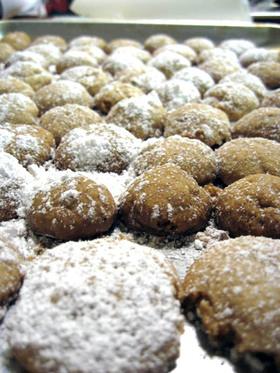 大豆粉でポルボローネ