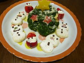 ブロッコリーツリー☆ポテトサラダ