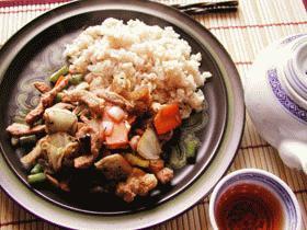 トーチ-と豚肉の野菜炒め