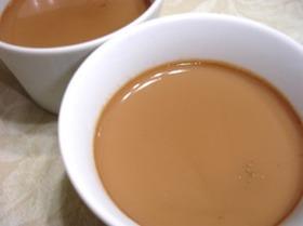 濃厚ロイヤルミルクティで紅茶プリン