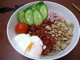 日本で作れる韓国本場の味*ビビン麺