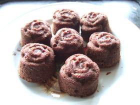 くるみのチョコレートケーキ
