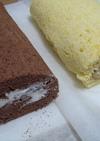 ★2色のロールケーキ☆