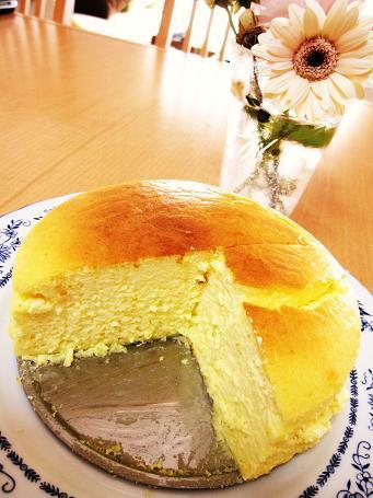 ふわっふわ!とろける柚子蜂蜜チーズケーキ