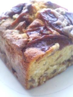 りんごのキャラメリゼパウンドケーキ