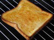 ごま油トーストの写真