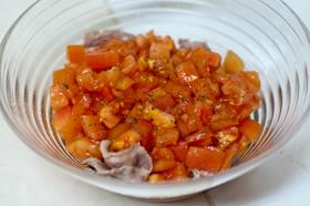 豚しゃぶトマトサラダ
