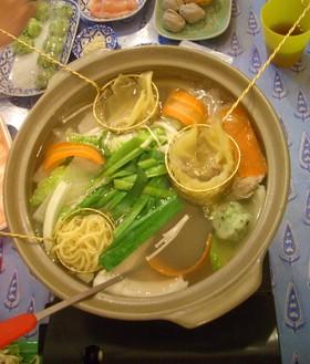タイの鍋料理*おうちでタイスキ