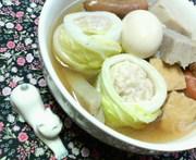 ✿トマトの白菜巻き入り❀屋台風✿おでんの写真