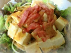 豆腐の和風パスタサラダ