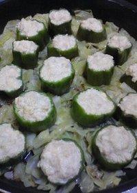 キャベツ畑の豆腐蒸しシュウマイ