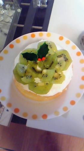 わんこ用☆スポンジケーキ