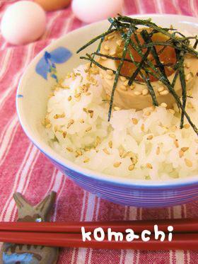 卵のっけ飯