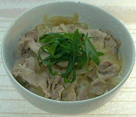 豚丼生姜風味