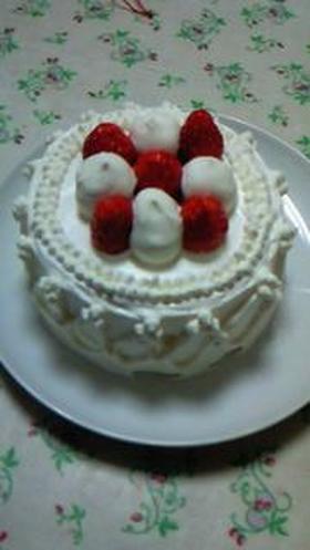 ミニデコレーションケーキ♪ 12cm型
