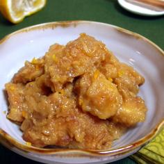 鶏胸ソテーの柚子みぞれ煮