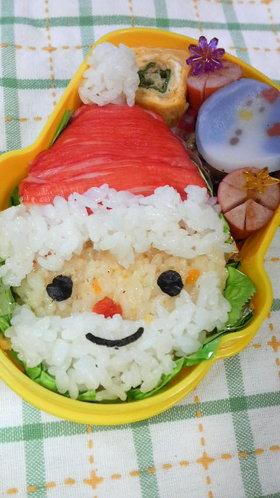 クリスマス☆サンタさん弁当☆キャラ弁