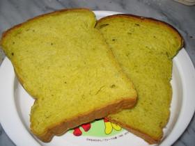 栄養満点!皮ごとカボチャほうれん草パン