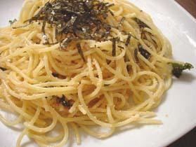 焼きたらこスパゲッティ