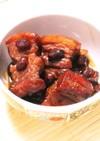 ☺おせちをリメイク♪黒豆と豚バラの角煮☺