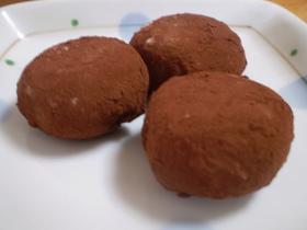 もっちりとろける生チョコ餅